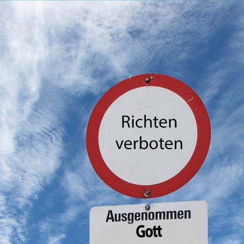"""Bild zum Weblog """"Richtet nicht!"""""""
