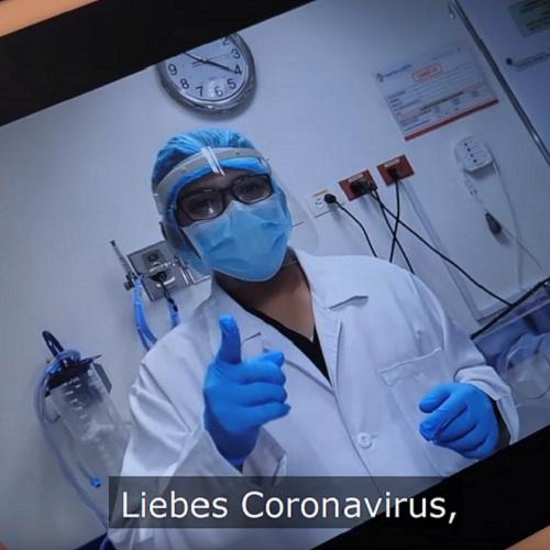 Bild zum Weblog Corona - Helfer ergreifen das Wort ...