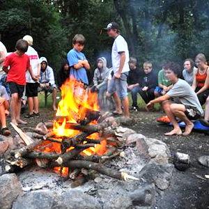 Bild zum Weblog Zeltlager in Selker