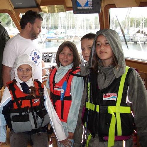 Bild zum Weblog Kinderferienlager besucht Wasserrettung
