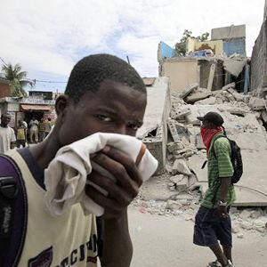 Bild zum Weblog Hochbetrieb im adv. Krankenhaus in Port-au-Prince