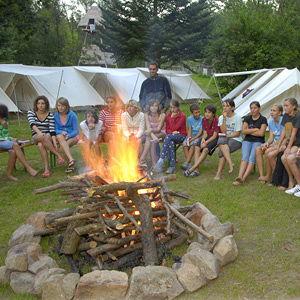 Bild zum Weblog Feuer, Freunde, Ferien. Zeltlager Selker begonnen
