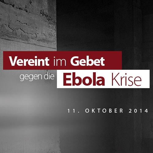 Bild zum Weblog Ebolakrise - Gebetsaufruf für den 11. Oktober 2014