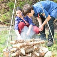Bild zum Weblog ADWA 28. April 2013: Feuerstellenbau & Kochen