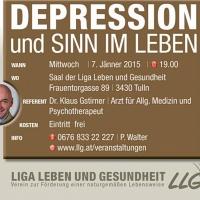 Bild zum Weblog Vortrag: Depression und Sinn im Leben