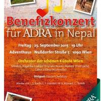 Bild zum Weblog Benefizkonzert für ADRA Nepal