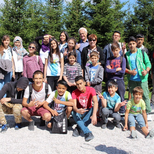 Bild zum Weblog Kinder des Integrationsprojektes  in St. Corona