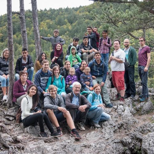 Bild zum Weblog Gemeindeausflug | Steinwandklamm