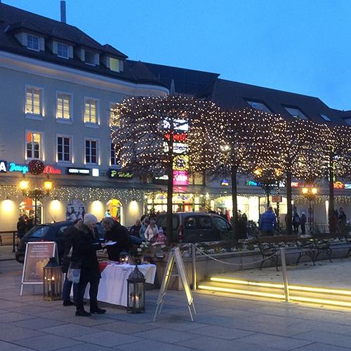 Bild zum Weblog Geschenkaktion am Hauptplatz Tulln