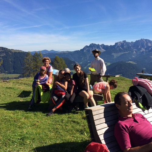 Bild zum Weblog Gemeinsamer Ausflug zur Karalm