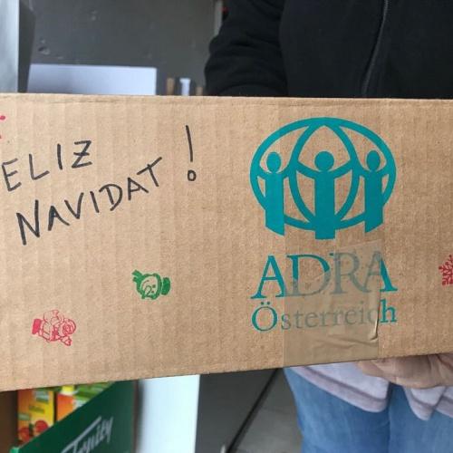 Bild zum Weblog ADRA Weihnachtspaket-Aktion in Tulln