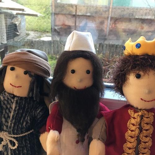 Bild zum Weblog Wir basteln Puppen