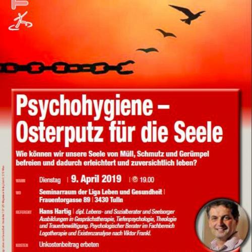 """Bild zum Weblog LLG Vortrag """"Psychohygiene"""""""